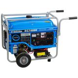 7000W Portable Generator - Electric Start and Wheel Kit