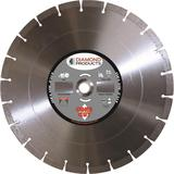 14 In. x .125 In. x 1 In. Delux-Cut Dry High Speed Diamond Blade