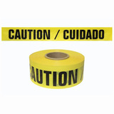 Reinforced Caution Tape - 6 mil