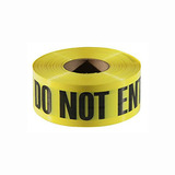 2 IN x 1000 FT red/black danger do not enter tape