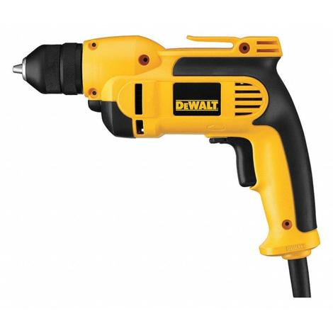 "3/8"" Electric Drill, 8.0 Amps, Pistol Grip Handle Style, 0 to 2500 No Load RPM, 240VAC"